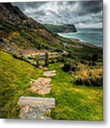 Follow The Path Metal Print by Adrian Evans