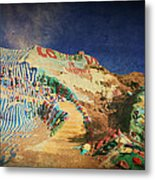 Follow The Yellow Brick Road Metal Print by Laurie Search