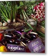 Food - Vegetables - Very Fresh Produce  Metal Print by Mike Savad