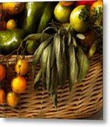 Food - Veggie - Sage Advice  Metal Print by Mike Savad
