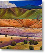 Foothill Approach Metal Print by Johnathan Harris