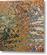 Forces Of Nature - Abstract Art Metal Print by Carol Groenen
