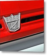 Ford F-500 - Route 66 - Winslow Arizona Metal Print by Christine Till