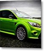 Ford Focus Rs Metal Print by motography aka Phil Clark