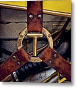 Ford T Hood Strap Metal Print by Odd Jeppesen