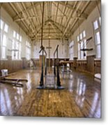 Fordyce Bathhouse Gymnasium - Hot Springs - Arkansas Metal Print by Jason Politte