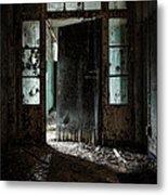 Foreboding Doorway Metal Print by Gary Heller