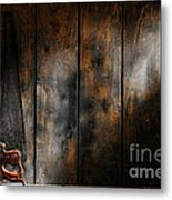 Forgotten Tool Metal Print by Olivier Le Queinec