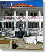 Fort Bayard Commandant's House Metal Print by Feva  Fotos