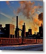 Foundry Metal Print by Benjamin Yeager