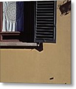 Four Corners Composition At Villa Aurora Florence Metal Print by Anna Lisa Yoder