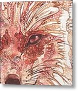 Fox Metal Print by Tamara Phillips