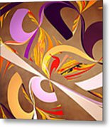 Fractal - Abstract - Space Time Metal Print by Mike Savad