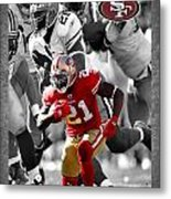 Frank Gore 49ers Metal Print by Joe Hamilton
