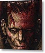 Frankenstein  Metal Print by David Shumate