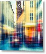 Frauenkirche - Munich V - Vintage Metal Print by Hannes Cmarits
