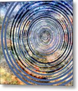 Free From Space And Time Metal Print by Angelina Vick