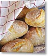 Fresh Bread Metal Print by Carlos Caetano