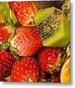 Fresh Fruit Salad Metal Print by Tomi Junger