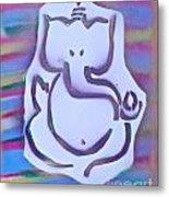 Fresh Ganesh 1 Metal Print by Tony B Conscious