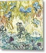 Frogs Metal Print by Milen Litchkov