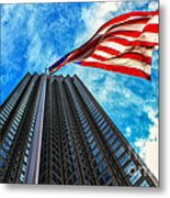From A Different Perspective II Metal Print by Rene Triay Photography