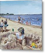 From Sandcastles To College Metal Print by Jack Skinner