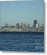 From Sausalito Metal Print by David Bearden