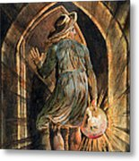 Frontispiece To Jerusalem Metal Print by William Blake