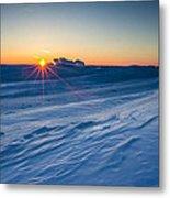 Frozen Lake Minnewaska Metal Print by Aaron J Groen