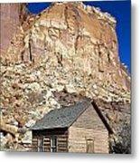 Frutia Schoolhouse Capitol Reef National Park Utah Metal Print by Jason O Watson