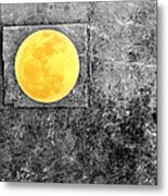 Full Moon Metal Print by Rebecca Sherman