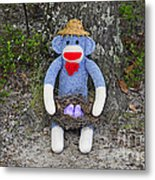 Funky Monkey - Purple Peeps Metal Print by Al Powell Photography USA