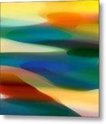 Fury Seascape 1 Metal Print by Amy Vangsgard