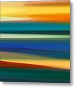 Fury Seascape Panoramic 1 Metal Print by Amy Vangsgard