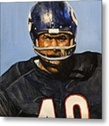 Gale Sayers Metal Print by Michael  Pattison