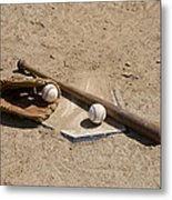 Game Time Metal Print by Bill Cannon