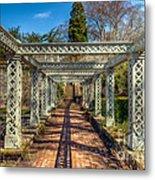 Garden Path Metal Print by Adrian Evans