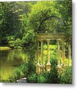 Garden - The Temple Of Love Metal Print by Mike Savad