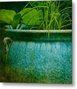 Gardenscape Metal Print by Amy Weiss