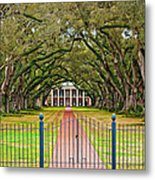 Gateway To The Old South Metal Print by Steve Harrington