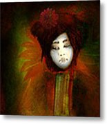 Geisha5 - Geisha Series Metal Print by Jeff Burgess