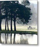 Genegantslet Golf Club Metal Print by Christina Rollo