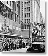 General Patton Ticker Tape Parade Metal Print by War Is Hell Store
