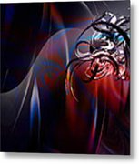 Geometric 6 Metal Print by Mark Ashkenazi