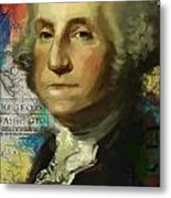 George Washington Metal Print by Corporate Art Task Force