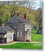 George Washington Headquarters At Valley Forge Metal Print by Olivier Le Queinec