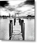 Georgetown Dock Metal Print by John Rizzuto