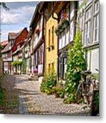 German Old Village Quedlinburg Metal Print by Heiko Koehrer-Wagner