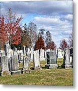 Gettysburg National Cemetery Metal Print by Brendan Reals